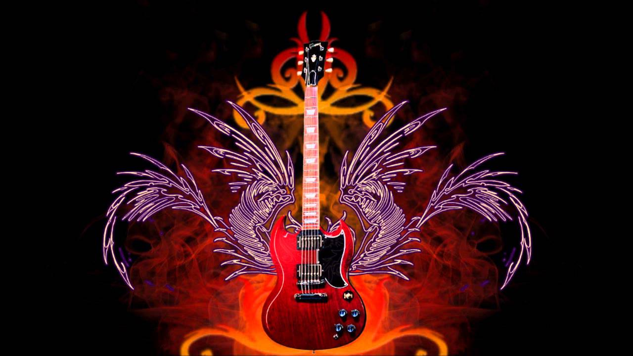 Electric Guitar Wallpaper Hd Instrumental Heavy Metal Rashid Theme Arrangement