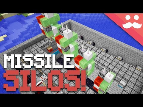 How To Make A ROCKET LAUNCHER In Minecraft!