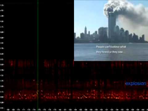 911 Sound Analysis of Explosions Prior  to Collapse. Amateur Footage Holboken