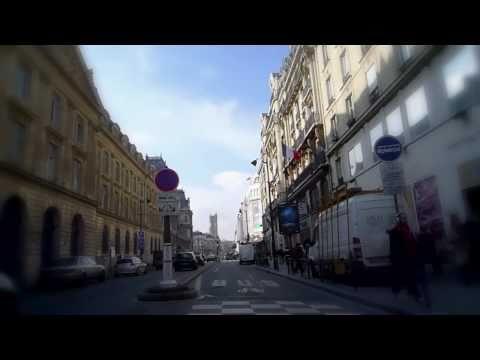 Bike in Paris - Promenade à vélo à Paris: Bastille - Concorde via rue de Rivoli.