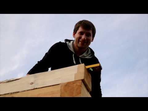 Видео стройка дома из бруса своими руками