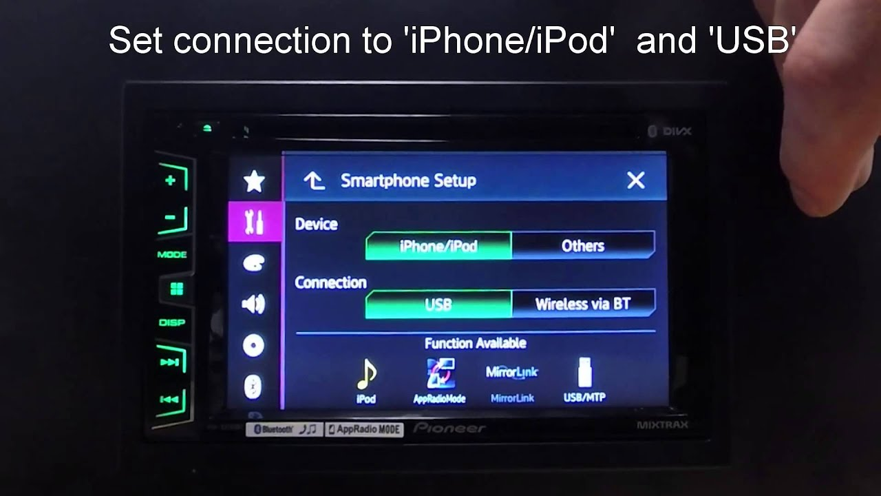 Pioneer AVH-X3700DAB Car Multimedia Driver Windows