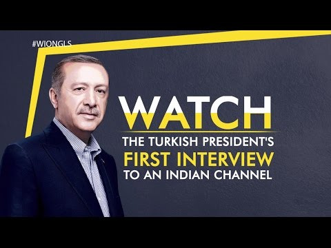 World Is One: President Recep Tayyip Erdogan's exclusive interview with WION