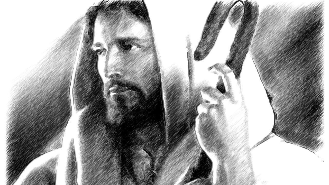 Amazing Quotes To Draw: Amazing Jesus Christ Sketch Art You Wouldn't Believe It's