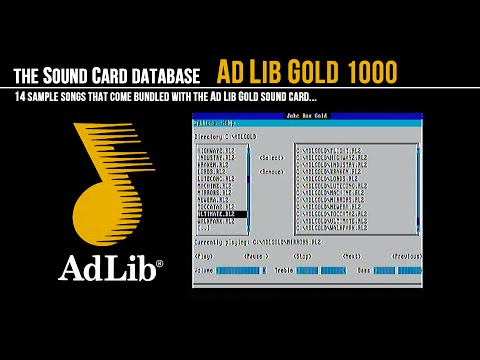 AdLib Gold Sample Songs