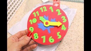 Развивающие игры / Детские часы / Головоломка / ОБЗОР игрушек