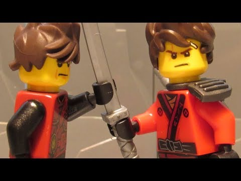 Lego ninjago movie kai vs original ninjago kai youtube - Ninjago vs ninjago ...