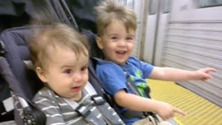 First Subway Trip: VERY Different Boys haha