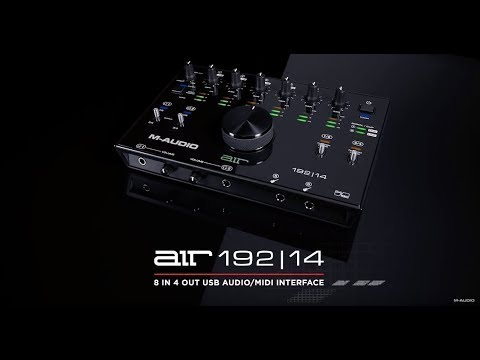 Introducing the M-Audio AIR 192|14
