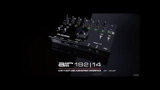 Video: SCHEDA AUDIO USB M-AUDIO AIR 192-14