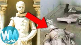 ¡OTRO Top 10 de Objetos Históricos ARRUINADOS por IMBÉCILES!