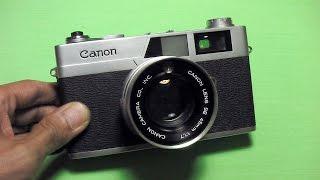 キャノン キャノネットSの使い方 CANON CanonetS How to use 1960s japan rangefinder camera