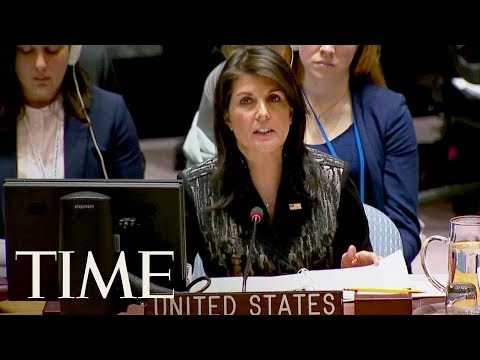 UN Ambassador Nikki Haley Calls Myanmar's Denial Of Ethnic Cleansing 'Preposterous'   TIME