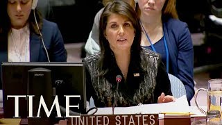 UN Ambassador Nikki Haley Calls Myanmar's Denial Of Ethnic Cleansing 'Preposterous' | TIME
