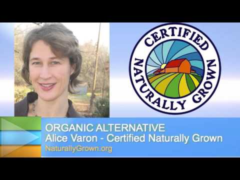 Organic alternative: Certified Naturally Grown