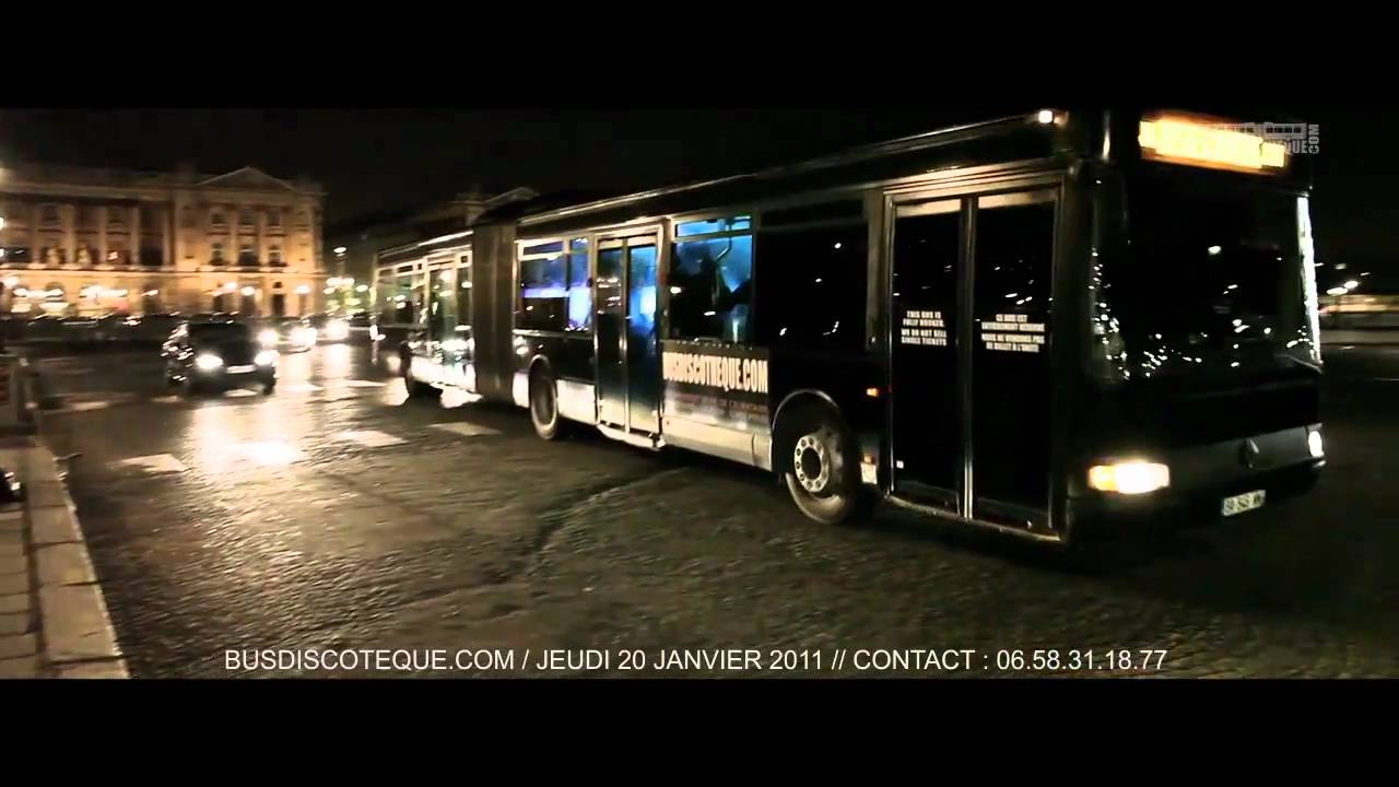 bus discotheque champagne sortir en bus discoth que paris youtube. Black Bedroom Furniture Sets. Home Design Ideas