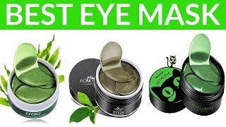 5 Best Eye Masks for Dark Circles-Remove Under Eye Anti Aging Wrinkles