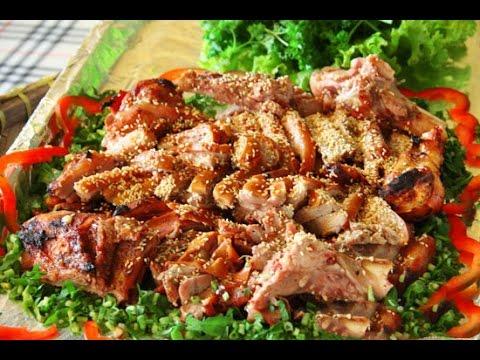 Thơm Nức Thịt Heo Rừng Nướng