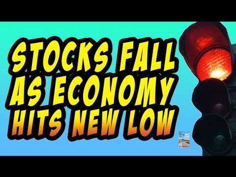 Dollar Drops, Stocks Fall, Exports Decline, Layoffs Increase, Economy Sinking!