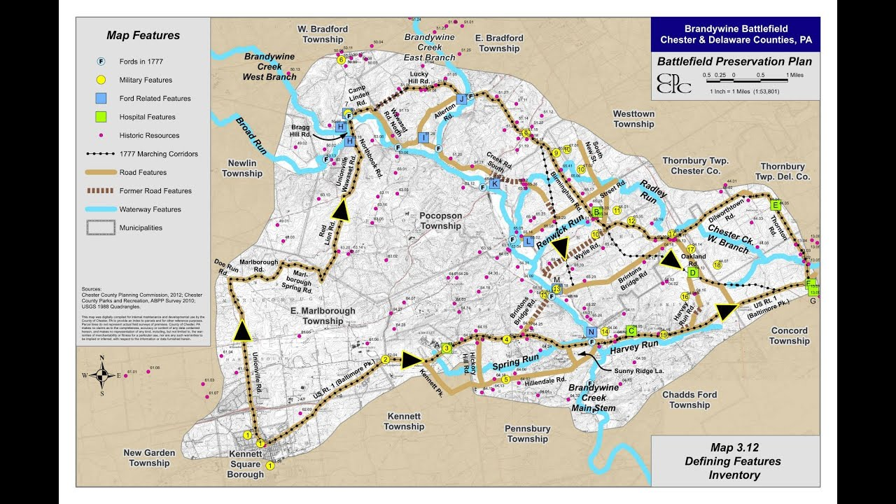 brandywine battlefield map - photo #21