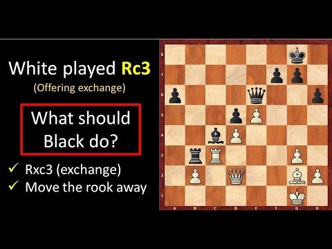 Chess Strategy: The Exchange Technique