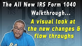 How To Fill Out Form 1040 - Form 1040 Instructions - YouTube