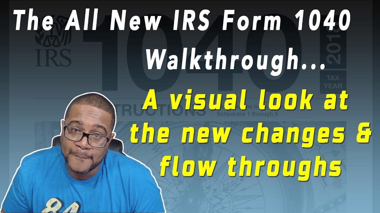 2018 IRS Form 1040 Walk Through