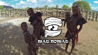 Namibia motorcycle trip, Part 1/2 - mad nomad