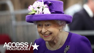 Queen Elizabeth Gets A Cake Of Herself!