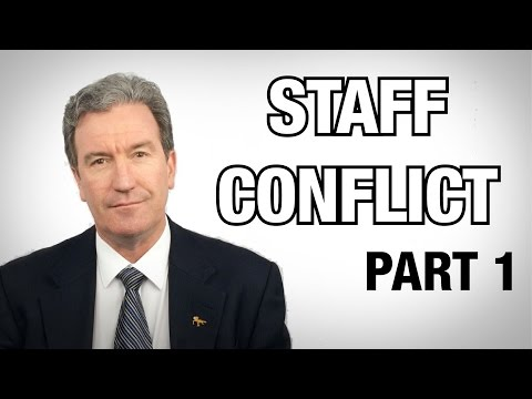 3 steps to manage Staff Conflict