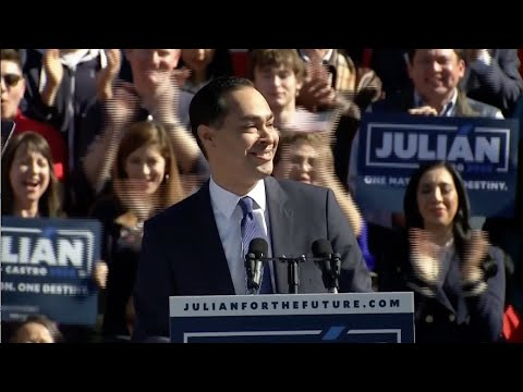 Julián Castro announces he is running for president in 2020
