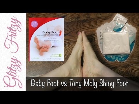 Baby Foot Vs Tony Moly Shiny Foot Review
