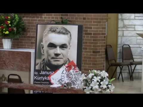 Poświęcenie tablicy pamiątkowej śp  Janusza Kurtyki  w Kościele Św. Błażeja, Summit, IL, 10022016