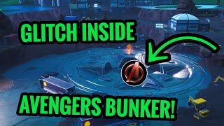 Avengers Under Loot Lake NEW Bunker Glitch?! Fortnite Glitches Season 8!