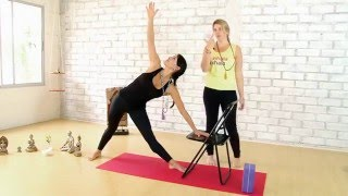 Eliana Franco ::: clase # 3 de Yoga con Andrea Chehebar.