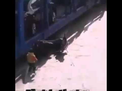 Em bé thoát chết dưới gầm xe tải