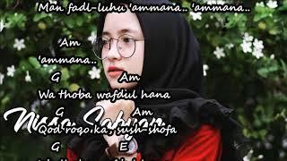Download Lagu YA ASYIQOL VERSI SABYAN Chord lirik Mp3