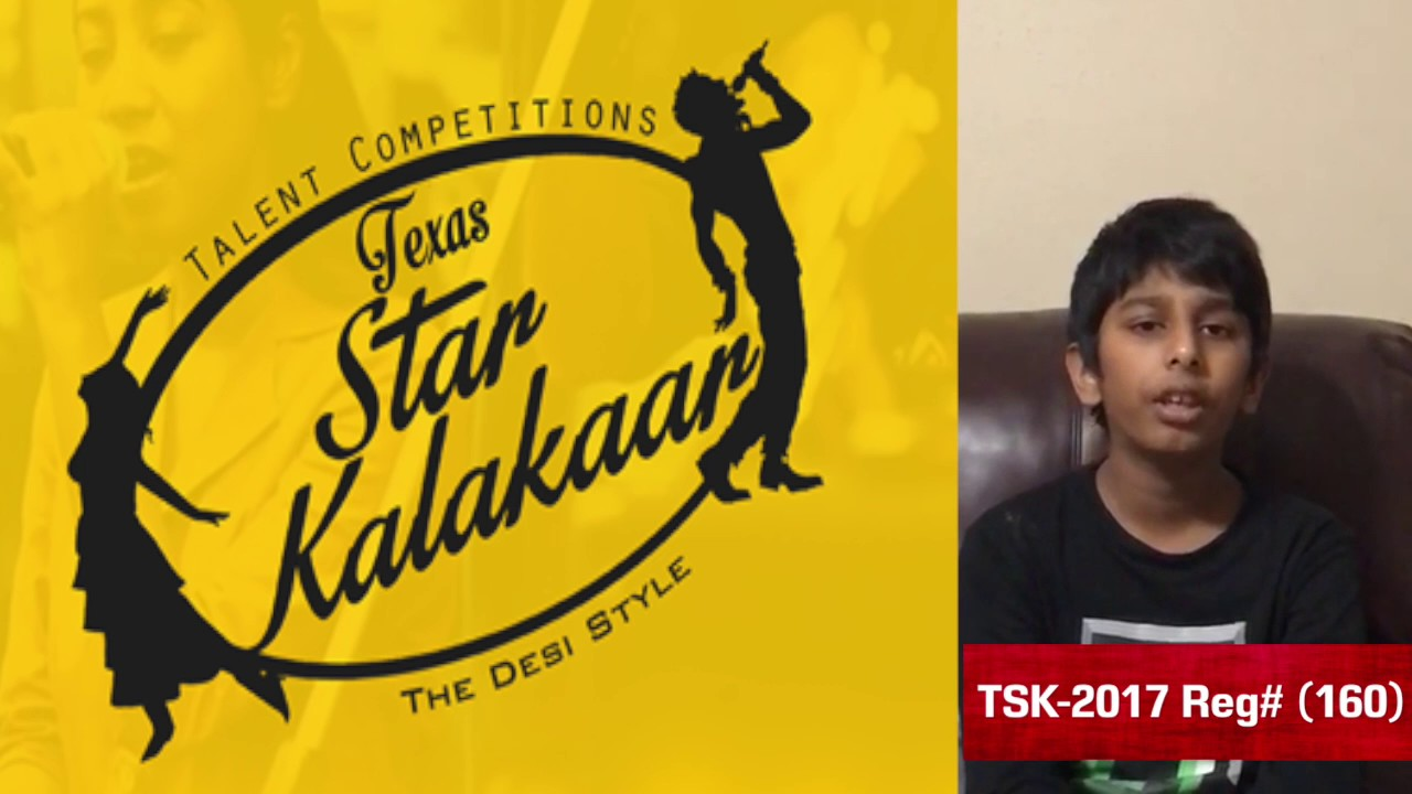 Introduction Promo - Texas Star Kalakaar 2017 - Reg #160