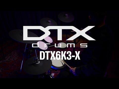 Yamaha DTX6K3-X Overview