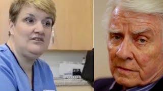 видео: Когда медсестра занялась его раной, пенсионер занервничал. Его история поразила всех...