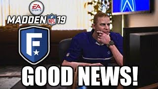 Madden 19 Franchise Breakdown - AND IT'S GOOD NEWS!!!