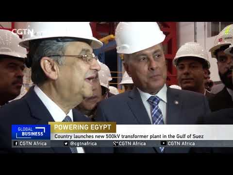 Egypt launches new 500kV transformer plant in the Gulf of Suez