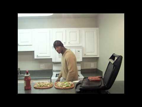 Delicious Homemade Smoked Turkey Sausage Pizza