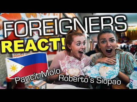 Foreigners Try Famous FILIPINO FOOD in Iloilo for the First Time!
