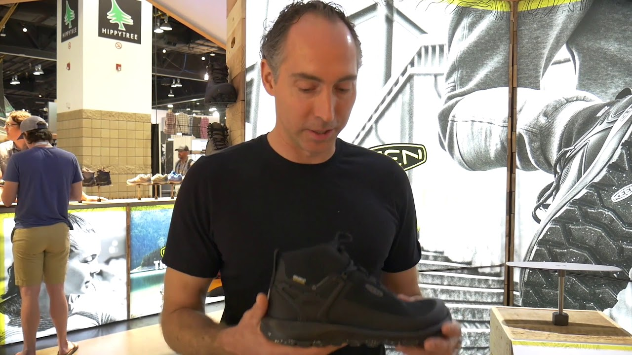 KEEN Citizen Evo Boot at OR 2018 Sean