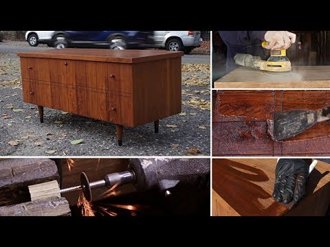 Thrift Store Rescue #12 | Furniture Restoration | Refinishing A Thrift Store Cedar Chest