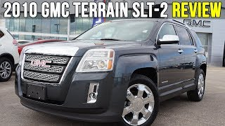 2010 GMC Terrain SLT-2 AWD | Sunroof, Pioneer Sound (In-Depth Review)