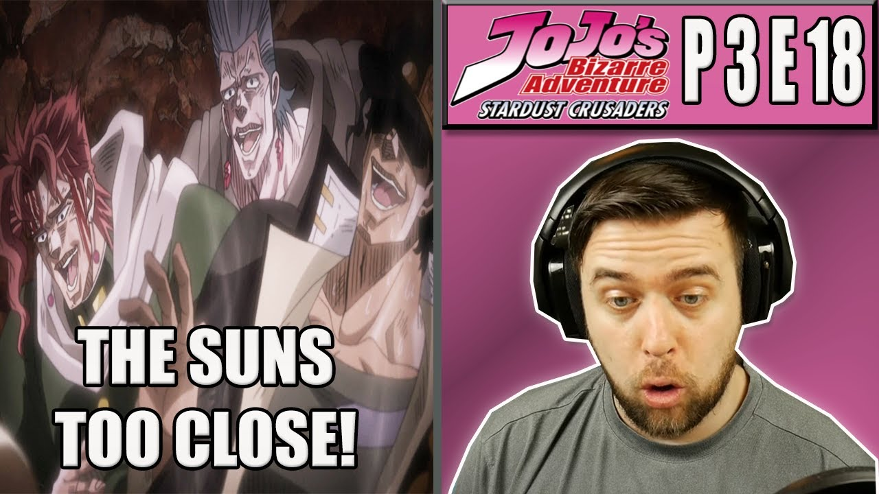 CAN ANYTHING BE A STAND? - JJBA Stardust Crusaders Episode 18 - Rich Reaction