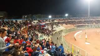 Catania-Catanzaro 1-0 la Sud dopo il gol del vantaggio