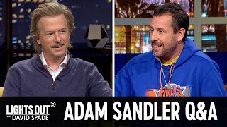 Adam Sandler: The Extended Q&A - Lights Out with David Spade
